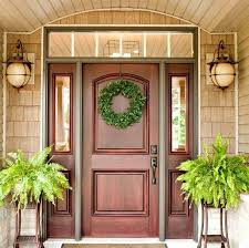 Solid Oak Exterior Doors Best 25 Exterior Doors With Glass Ideas On Pinterest Front Door
