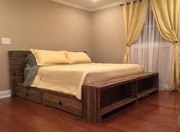 Wood Platform Bed Wooden Platform Bed Storage Bedroom Ideas And Inspirations