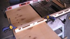 dewalt table saw extension plan to build
