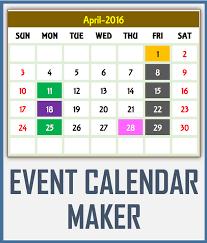 2018 calendar events u2013 2018 calendar pdf template
