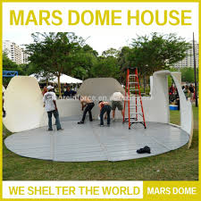 Geodesic Dome House Low Cost Frp Easy Assemble Geodesic Dome House For Caravan Camping