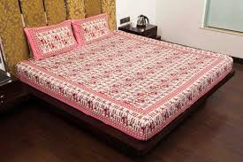 what is the best material for bed sheets why choose block print bedsheet