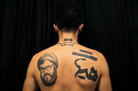 pictured shiite tattoos a show of pride amid tensions daily