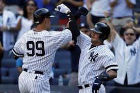 Aaron Judge Joins An Exclusive Club Of Yankees All Stars Pinstripe - new york yankees a way too early world series prediction