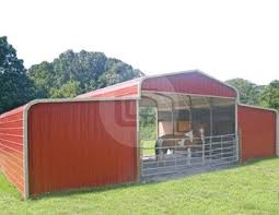 Prefab Metal Barns Metal Barns Steel Storage Shed Carolina Barns Online Seneca