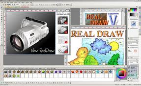draw real draw seamlessly combines vector tools with the rich look of