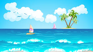 dream tag wallpapers ocean sunset tropical beach dream wallpaper