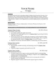 Resume Template For Students With Little Experience Resume Examples For Jobs With Little Experience Entry Level