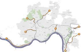 Map Cincinnati Green Umbrella Cincinnati Connects