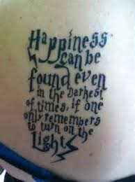 harry potter quote tattoos profile picture quotes