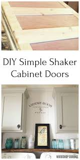 how to make easy shaker cabinet doors how to make simple shaker cabinet doors in 4 steps diy