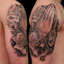 praying and roses by shawn barber tattoonow