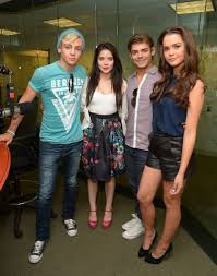 teen beach movie cast sirius xm candids in nyc maia mitchell