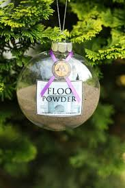 What Does Ornaments Harry Potter Ornament From An Etsy Shop Floo Powder I