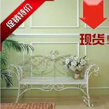 Wrought Iron Sofa Tables by Outdoor Furniture Wrought Iron Sofa Chair Leisure Park Bench