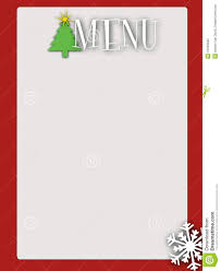 free blank menu template retro style blank menu stock illustration image