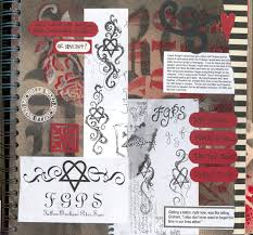 art journal pages tattoo journal design sketches please do