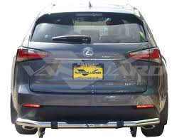 lexus nx200t vs bmw x5 15 17 lexus nx nx200t nx300h rear bumper protector guard single