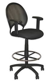 chic tall desk chair skillful tall office chairs for standing