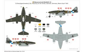Air Force 1 Layout by Airfix A03088 Messerschmitt Me262a 1a Schwalbe 1 72