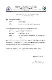 contoh surat pernyataan untuk melamar kerja 10 contoh surat keterangan kerja penghasilan domisili dll