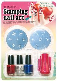 amazon com konad set starter kit for stamping nail art nail