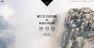 black friday santa barbara rei urges folks to optoutside in its social anti campaign for