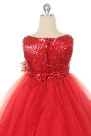 glitter tulle gold sparkle party flower girl dress