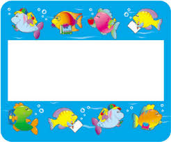 of fish name tags by carson dellosa cd9418 really great toys