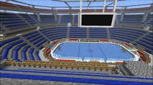 minecraft sports stadium server hockey arena imdeity kingdoms minecraft multiplayer server