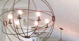 elegant orb chandelier lighting multi glass orb chandelier 6 light