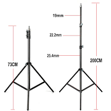 light stand 2018 fotopal 2m light stand tripod with 1 4 screw head bearing