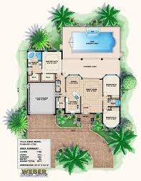 mediterranean villa house plans mediterranean house plans floor plan modern one tuscan award