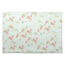 Shabby Chic Placemats by Shabby Pink Roses Placemats Zazzle