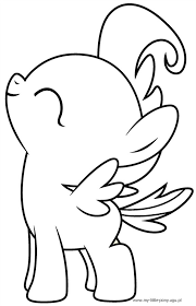 pony cake coloring coloring
