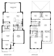 narrow lot plans stunning narrow lot 4 bedroom house plans contemporary best