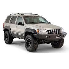 jeep liberty fender flare 10926 07 bushwacker cut out fender flares 99 04 wj