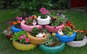 idee fai da te per il giardino come decorare il giardino fai da te riciclo e low cost foto
