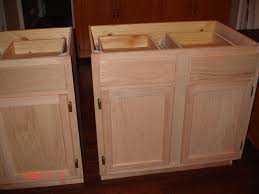 Stain Unfinished Kitchen Cabinets Diy Kitchen Island Stock Cabinets Kitchen Island Plans You Can For