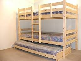Bunk Bed With Trundle Bunkbed With Trundle Guest Bed 3ft Single Bunk Bed With Underbed