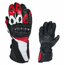 motorcycle gloves red black and white leather gloves u2013 disportlocus