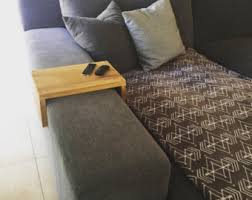 Sofa Arm Table by The Original Couch Arm Wrap Solid Wood Custom Arm Rest Table