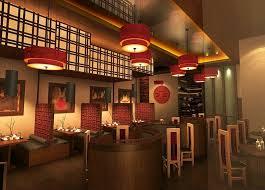 Interior Design Restaurants Visual Asian Restaurant Interior Design For Affectionate Condition