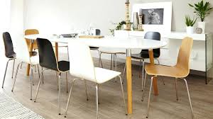 dining table kentucky white dining table with 4 black chairs set