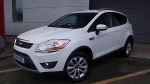 2012 12 ford kuga 2 0 tdci 140 titanium 5dr 2wd in white youtube