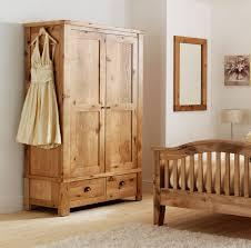 Oak Furniture Normandy Rustic French Oak 2 Door Double Wardrobe Oak Furniture Uk