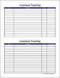 Simple Inventory Sheet Template Free Small Simple Inventory Tracking Sheet Wide From Formville