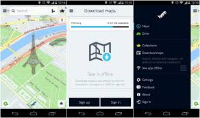 maps apk version nokia here maps apk for android leaks