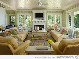it feels homey 15 homey country cottage decorating ideas for living rooms home