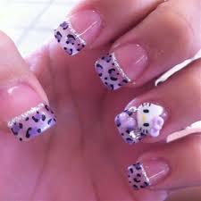 cute hello kitty acrylic nail designs cameleon nail polish